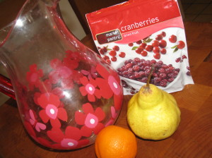 Fall Fruit Infused Waters
